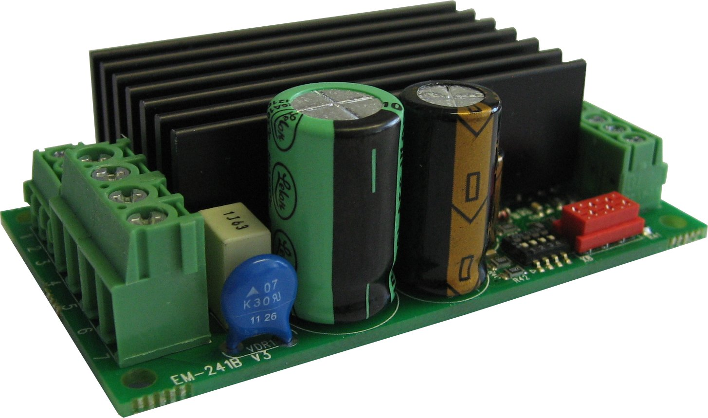 Electromen Em 241c 48v Dc Motor Controller 24 10a Small Speed Regulator Is A Full Bridge Starter For Nominal Voltage 36 Or It Designed To Work With In Applications Where Some Special