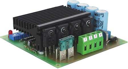 Electromen Em 115 48 Dc Moottoris Din 20 60v 25a 4 Quad